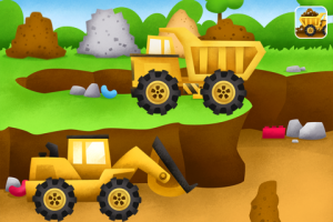 MomsicleBlog: Construction play in Trucks app by Duck Duck Moose