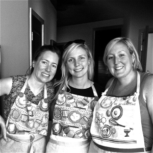 Chefs in awesome aprons. MomsicleBlog