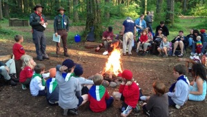 Cascadia Scouts Campfire