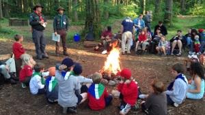 Cascadia Scouts Campfire