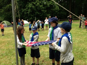 Cascadia Scouts Flag