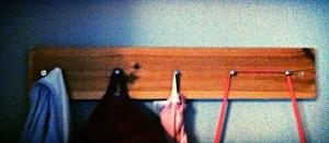 Coat or Robe Hanger. MomsicleBlog