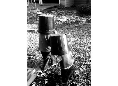 Garden Gremlins. MomsicleBlog