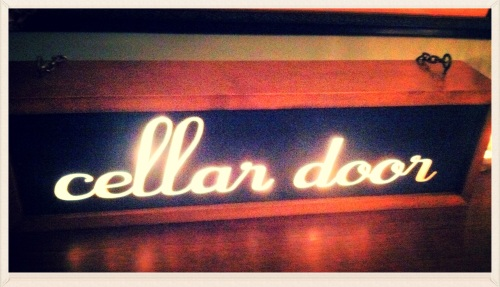 Cellar Door in Portland. MomsicleBlog
