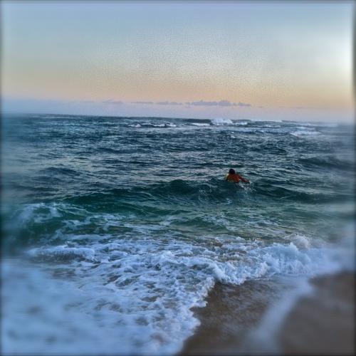 Sri Into the Waves. MomsicleBlog