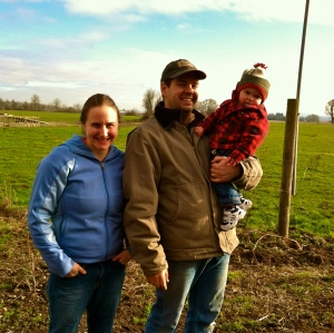 Mike Kloft and Patty Bochsler. Lonely Lane Farms. MomsicleBlog