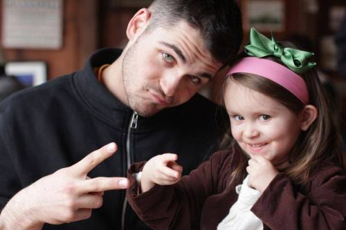 Uncle Alex with Halle, photo courtesy of Lyndsey Pelham Lederer