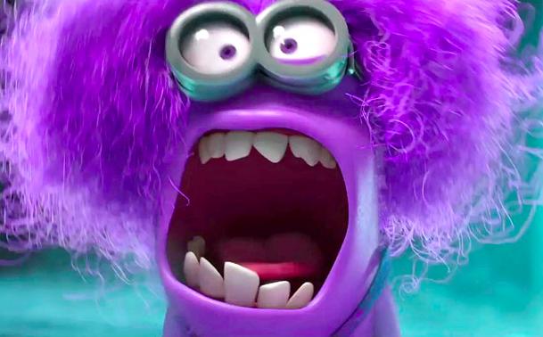 Purple Minions Momsicle