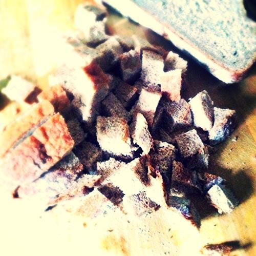 Homemade Croutons Prep. MomsicleBlog