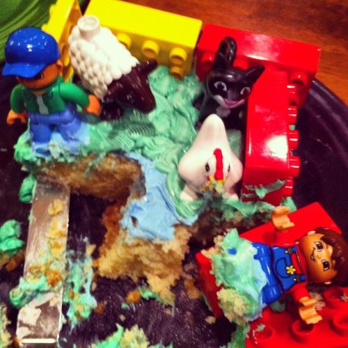 The farm went to hell. MomsicleBlog