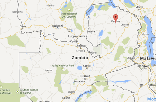 Zambia and Kasama, courtesy GoogleMaps. MomsicleBlog