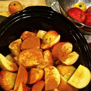 Simplest Applesauce. MomsicleBlog