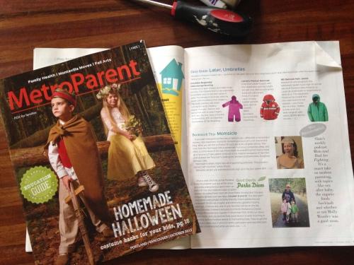 Portland MetroParent Mag. MomsicleBlog