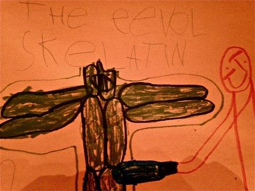 The Eevol Skelatin by K-Pants. MomsicleBlog