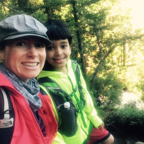 Me and K-Pants Hiking 2017. MomsicleBlog